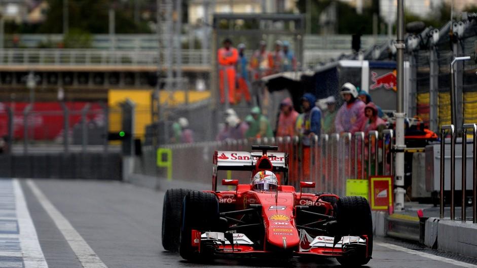 Sebastian Vettel, Ferrari, Sochi Autodrom, 2015