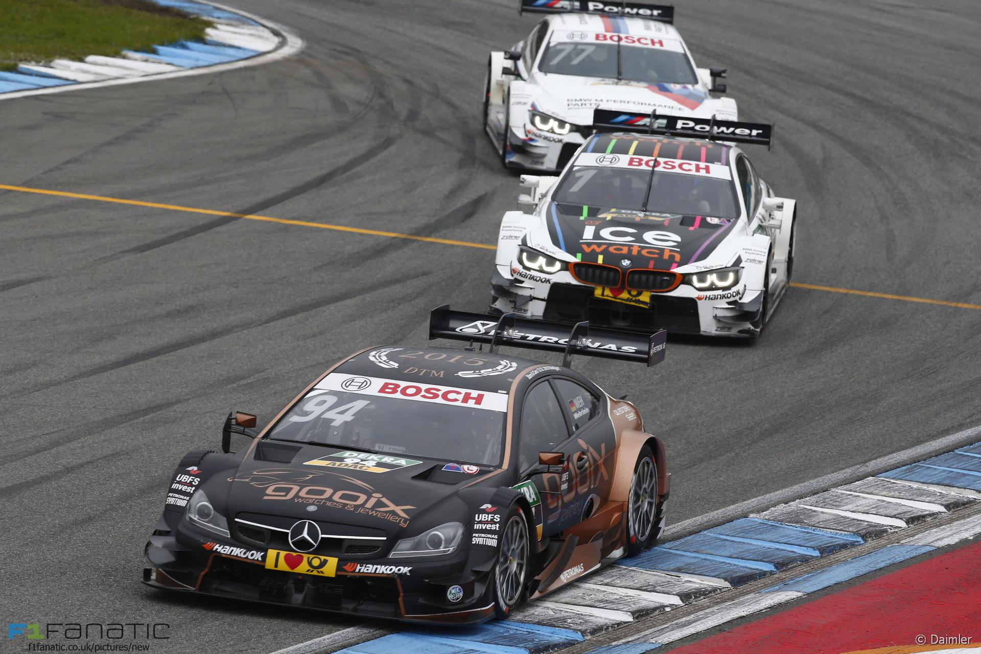 Pascal Wehrlein, Mercedes, DTM, Hockenheimring, 2015