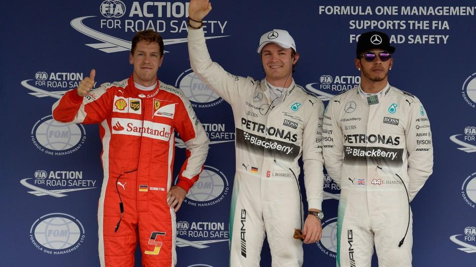2015 Mexican Grand Prix grid