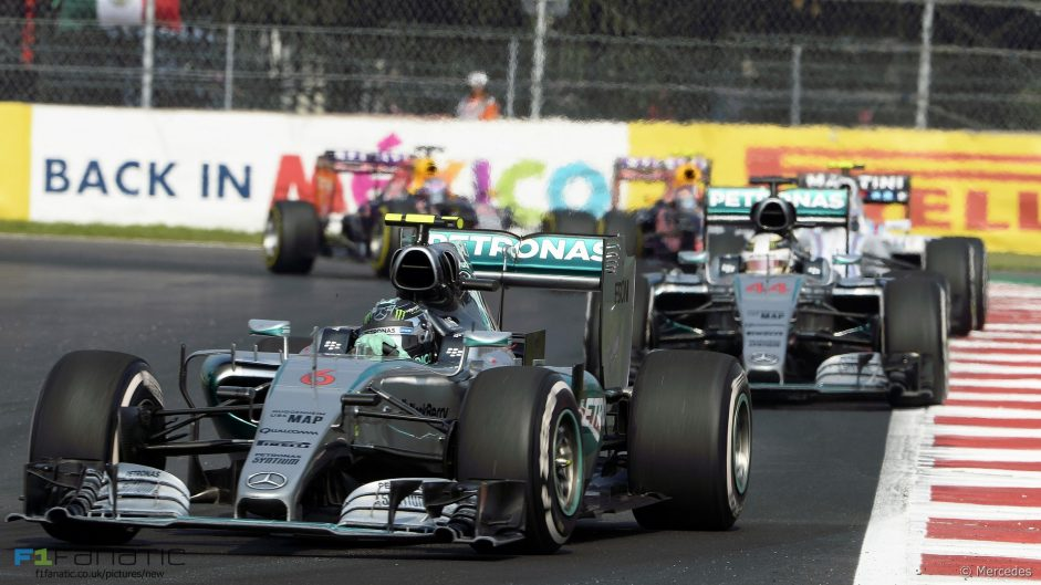 Softer tyres for F1's return to Mexico