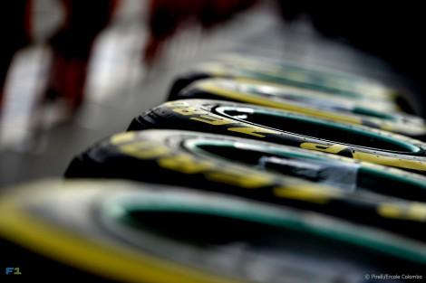 Soft tyre, Autodromo Hermanos Rodriguez, 2015