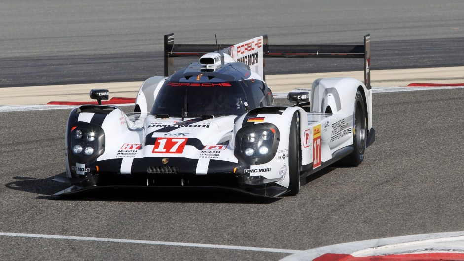 Juan Pablo Montoya/Mitch Evans, Porsche, Bahrain International Circuit, 2015