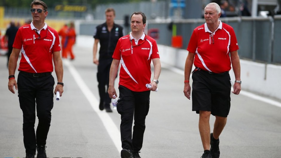 Manor hires Ryan and confirms departure of Booth and Lowdon