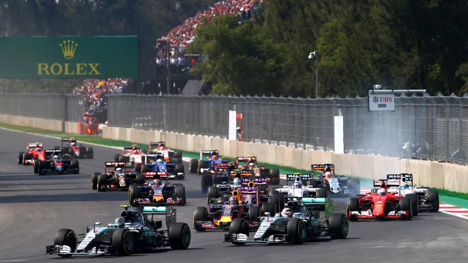 2015 Mexican Grand Prix in pictures