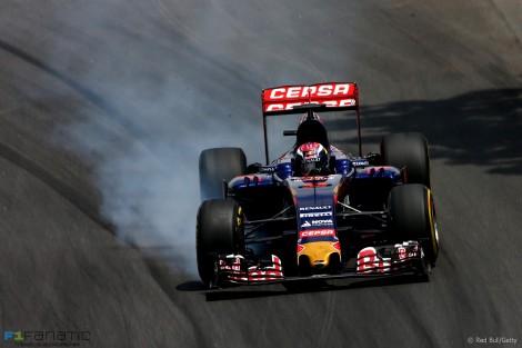 Max Verstappen, Toro Rosso, Interlagos, 2015