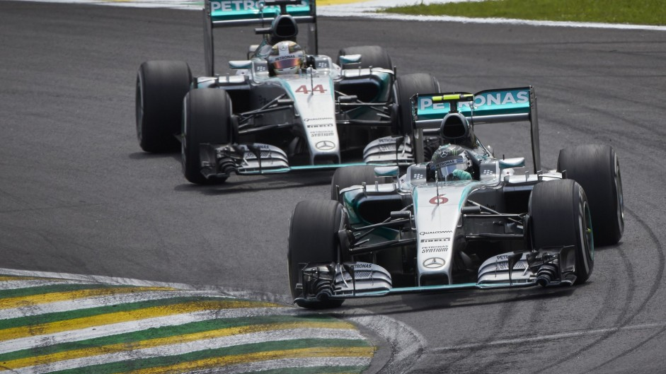 """I was just controlling the pace"" – Rosberg"