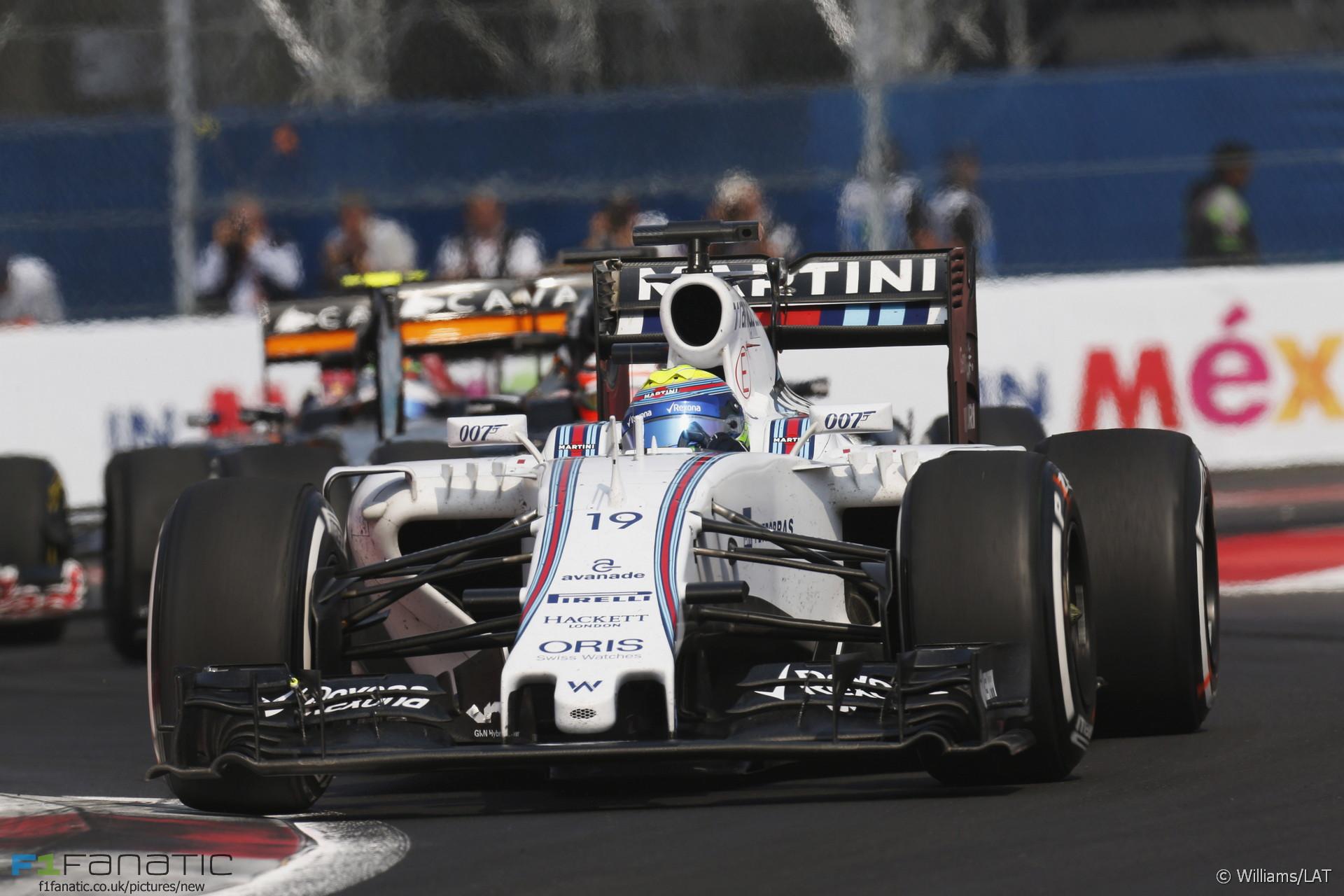 Felipe Massa, Williams, Autodromo Hermanos Rodriguez, 2015