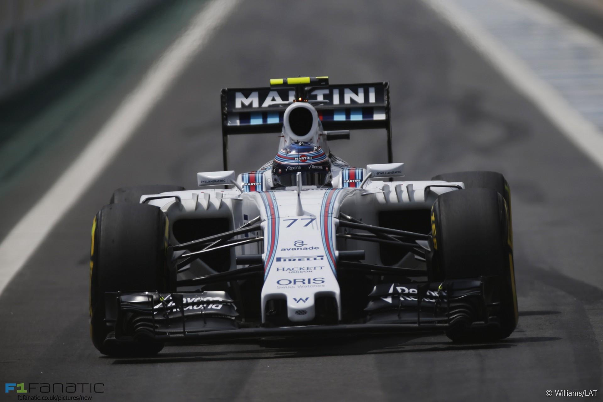 Valtteri Bottas, Williams, Interlagos, 2015