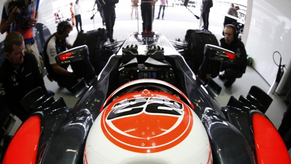 Jenson Button, McLaren, Autodromo Hermanos Rodriguez, 2015