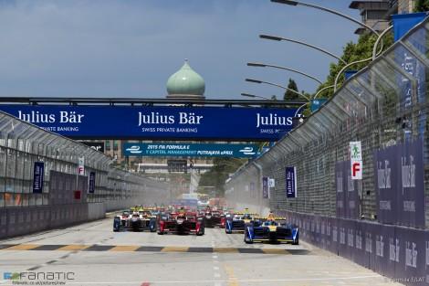 Start, Formula E, Putrajaya, 2015