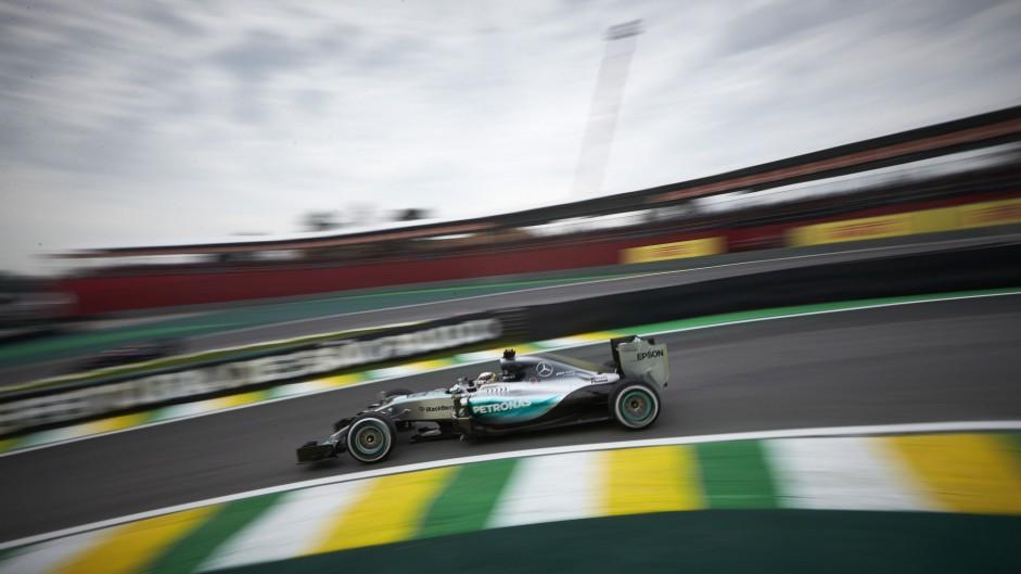 Mercedes drivers lead Vettel as Raikkonen spins