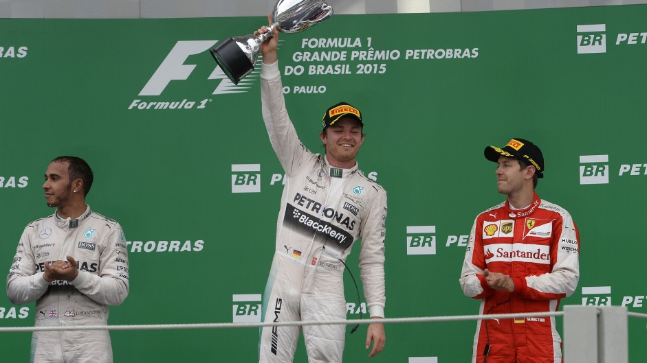 Rosberg keeps Hamilton waiting for first Brazil win