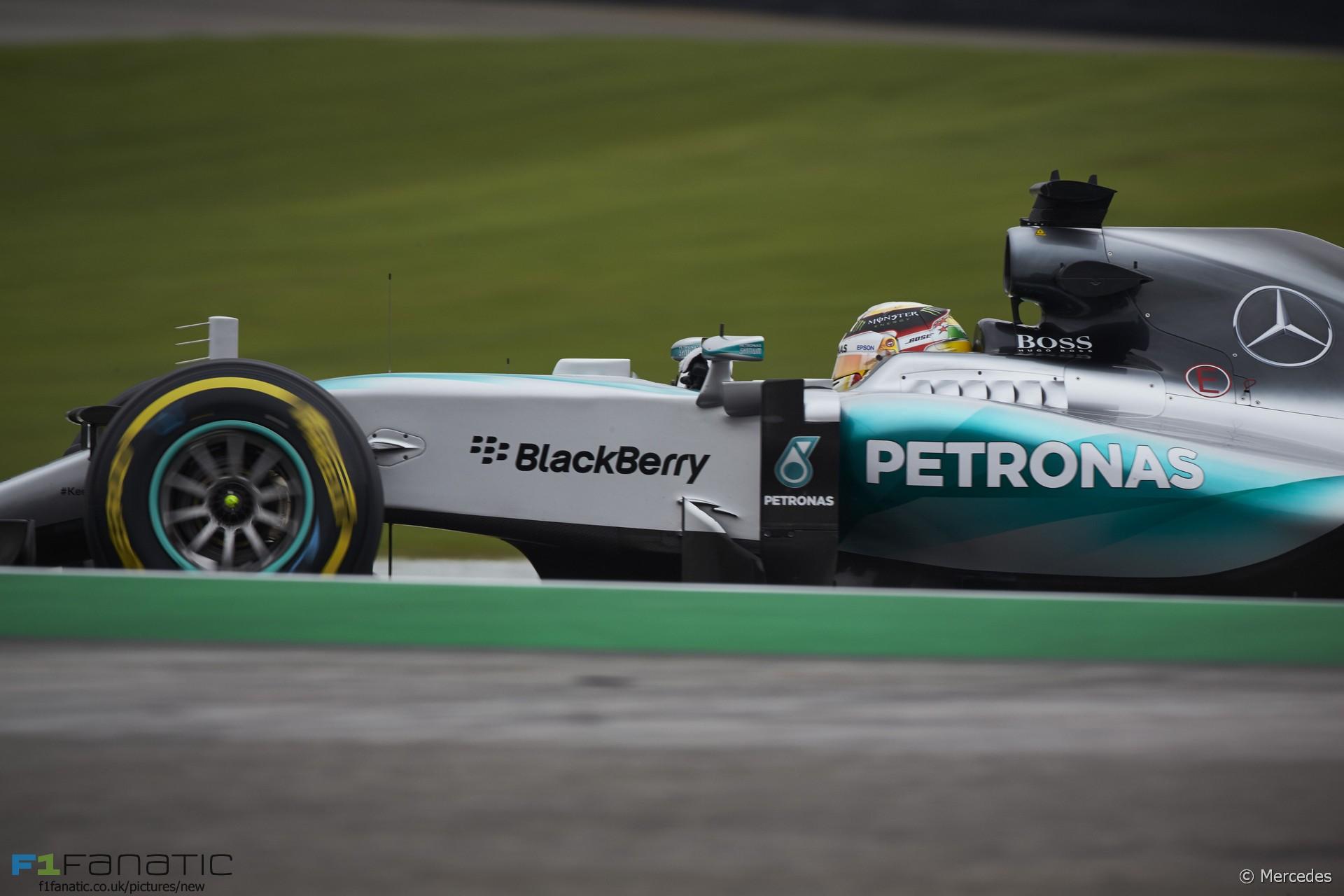 Lewis Hamilton, Mercedes, Interlagos, 2015