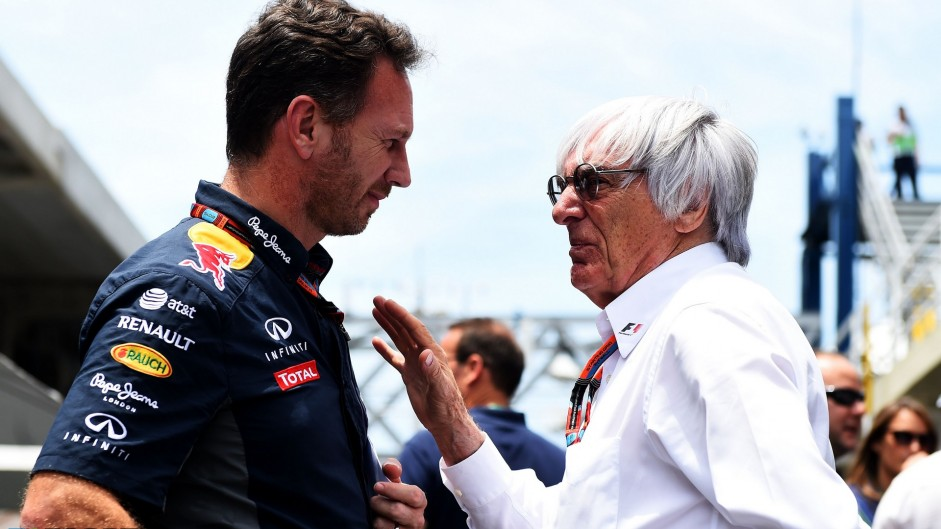 Mercedes should have given Red Bull engines – Ecclestone