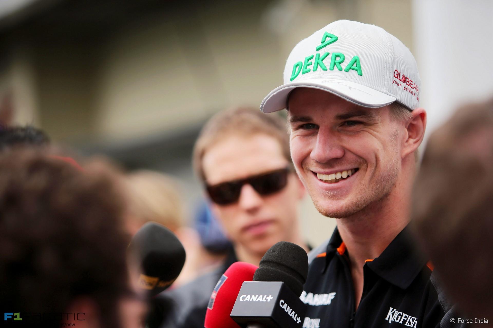 Nico Hulkenberg, Force India, Interlagos, 2015
