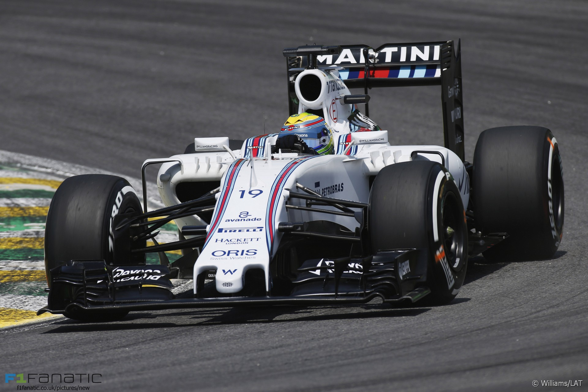 Felipe Massa, Williams, Interlagos, 2015