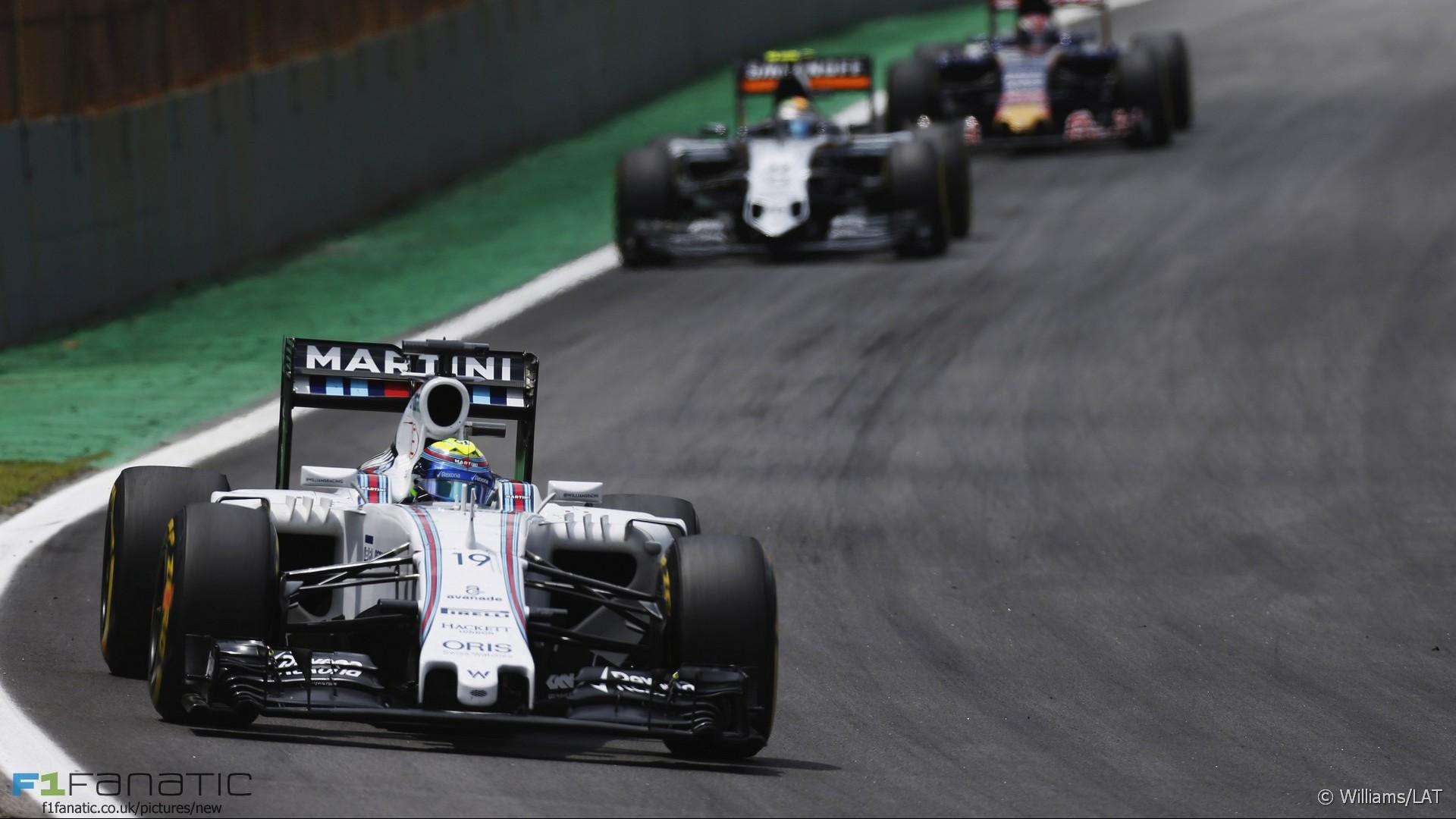 Felipe Massa, Williams, Interlagos, 2015