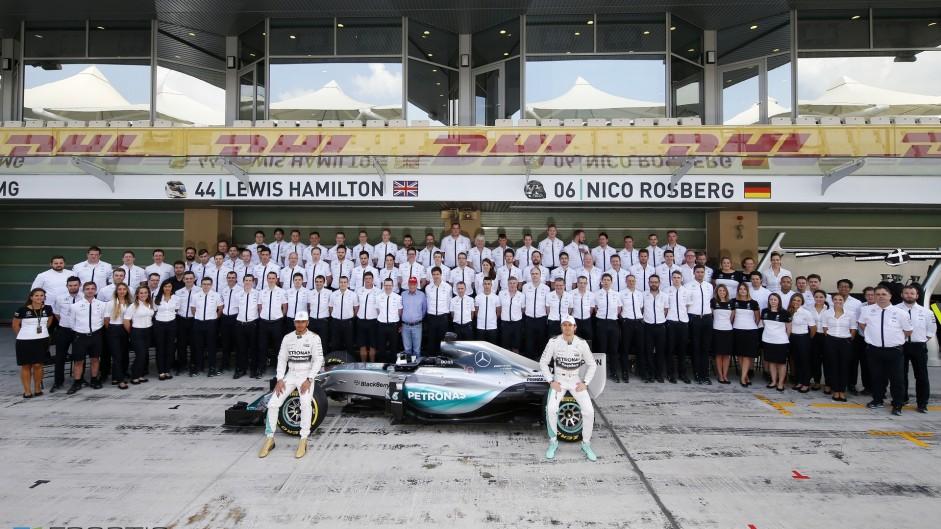 Mercedes raise the bar with record-smashing 2015 season