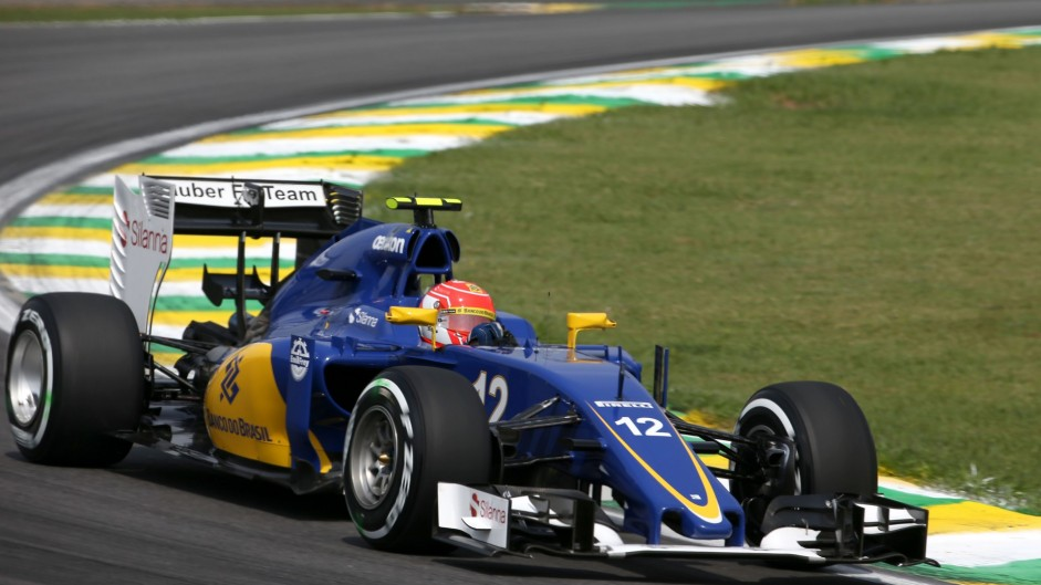 Sergio perez given grid penalty at brazil