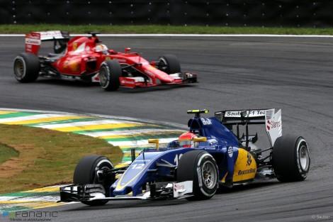 Felipe Nasr, Sauber, Interlagos, 2015