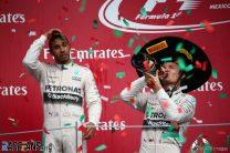 Rosberg gets his revenge as Hamilton holds back