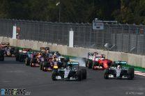Start, Autodromo Hermanos Rodriguez, 2015