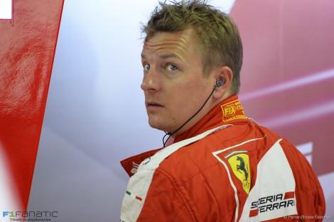 Kimi Raikkonen, Ferrari, Interlagos, 2015