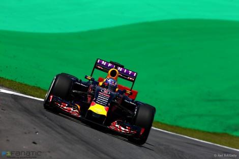 Daniel Ricciardo, Red Bull, Interlagos, 2015