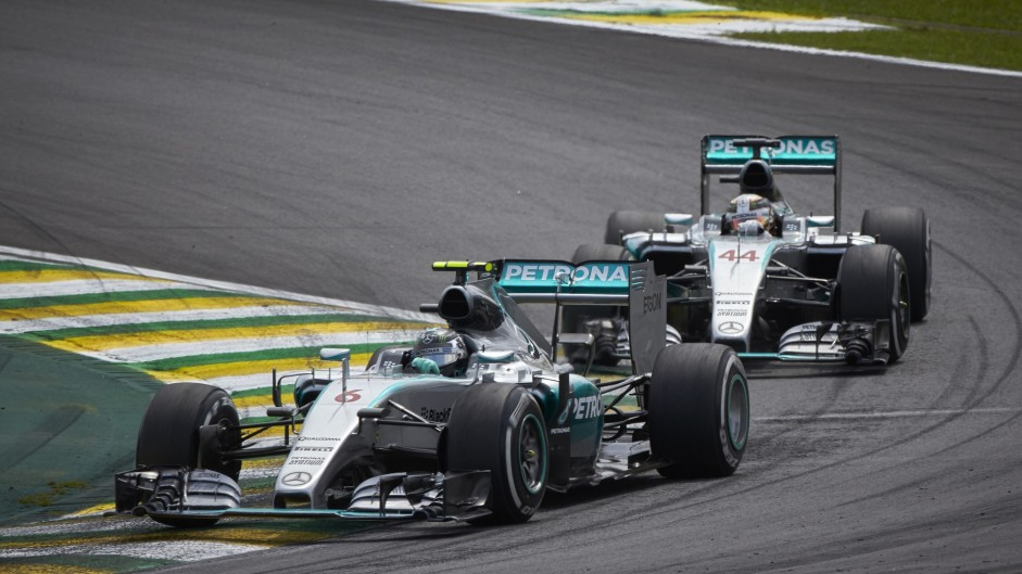 Second-placed driver gets second-best strategy – Hamilton