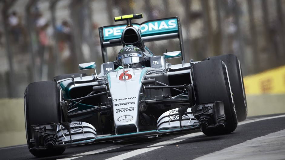 "Kerbs and asphalt make track ""completely different"" – Rosberg"