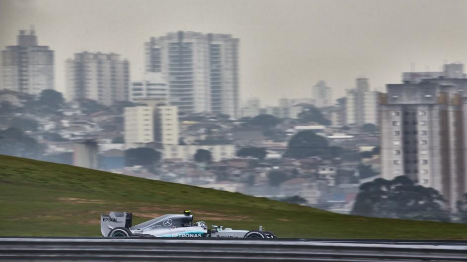Rosberg set to deny Hamilton his prized Brazil win again