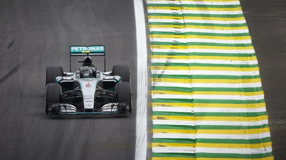 Rosberg holds off Hamilton for back-to-back Brazil wins
