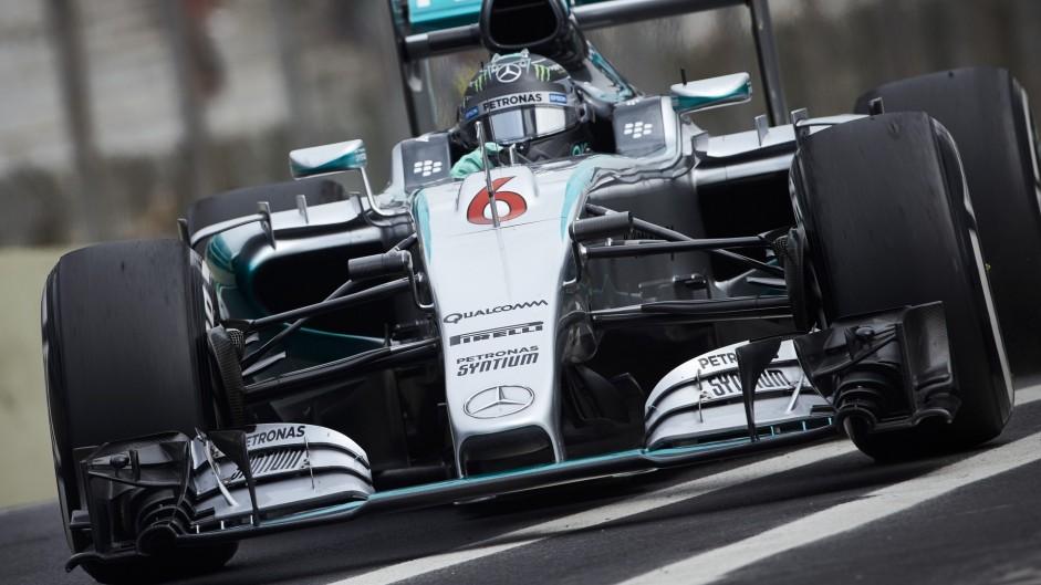 2015 Brazilian Grand Prix grid