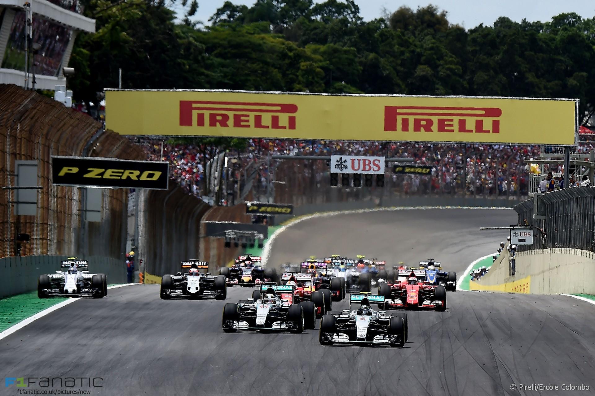 Start, Interlagos, 2015