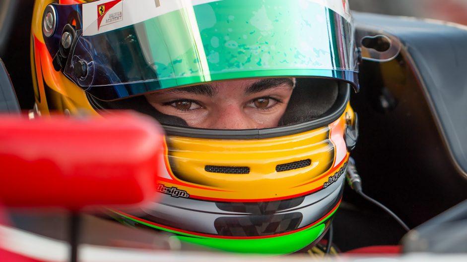 Lance Stroll, Prema, Italian Formula Four, Vallelunga, 2014