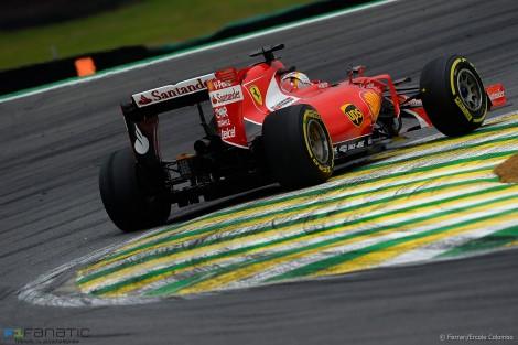 Sebastian Vettel, 法拉利, 因特拉格斯,2015年