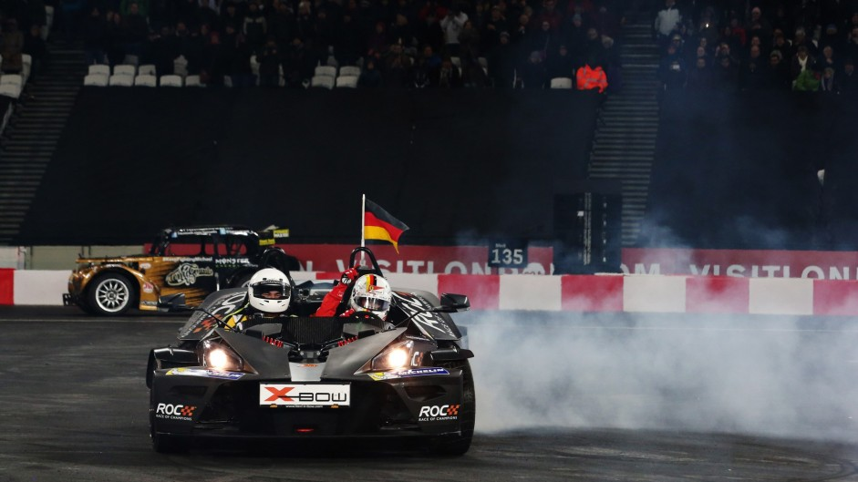 Vettel beats Kristensen to win Race of Champions