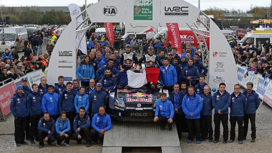 No celebrations on WRC podium after Paris attacks
