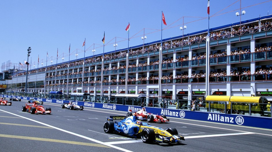 Start, Magny-Cours, 2005