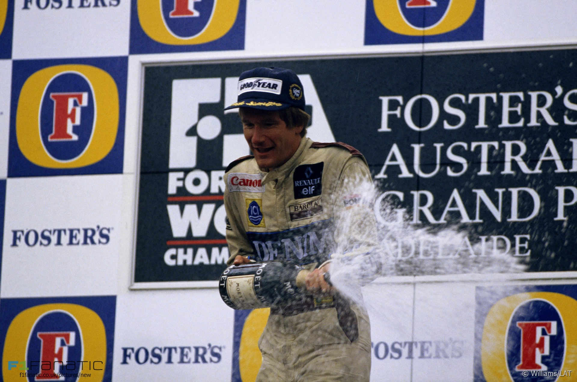 Thierry Boutsen, Williams, Adelaide, 1989