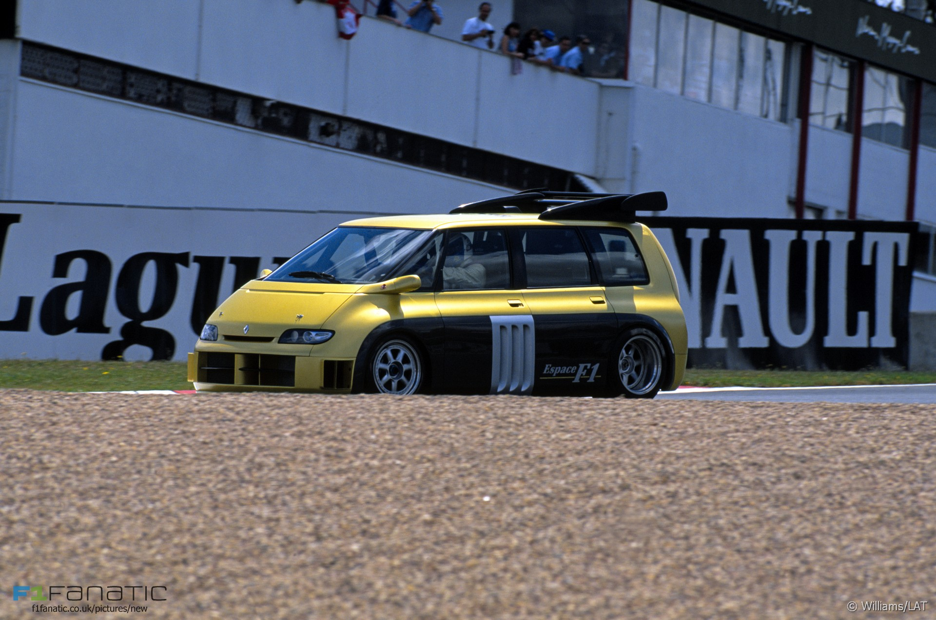 renault espace f1 magny cours 1995 f1 fanatic. Black Bedroom Furniture Sets. Home Design Ideas
