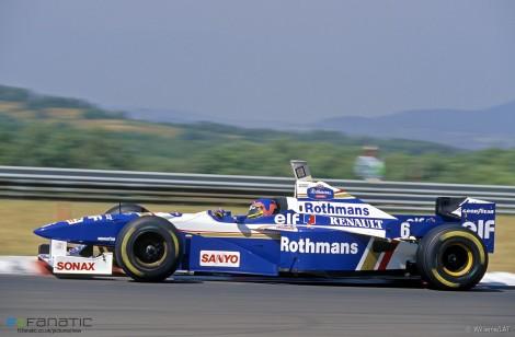 Jacques Villeneuve, Williams, Hungaroring, 1996