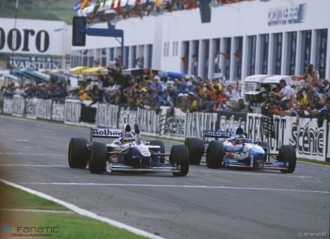 Jacques Villeneuve, Williams, Jerez, 1997