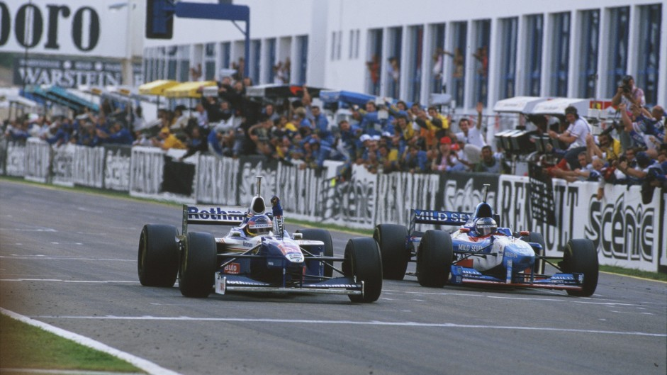 Jacques Villeneuve, Williams, Jerez, 1997