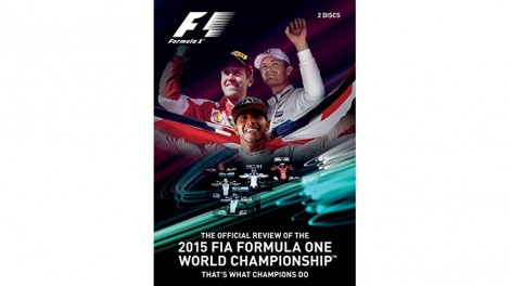 "2015 F1 DVD review ""That's What Champions Do"" cover"