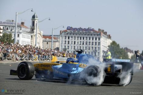 Franck Montagny, Renault, 2004