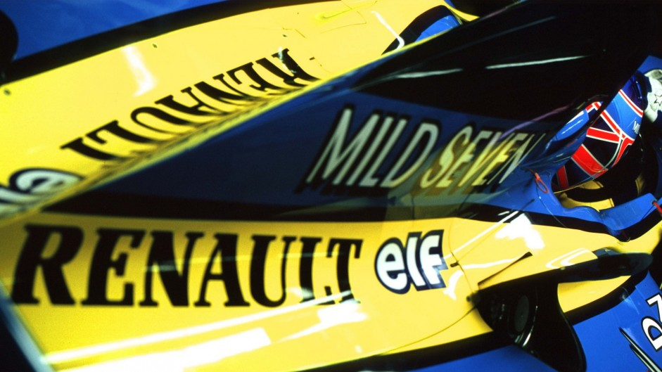 Renault's F1 history in pictures, 1977-2015