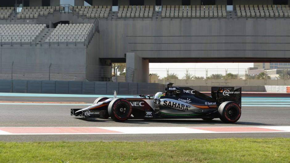Force India, Yas Marina, 2015