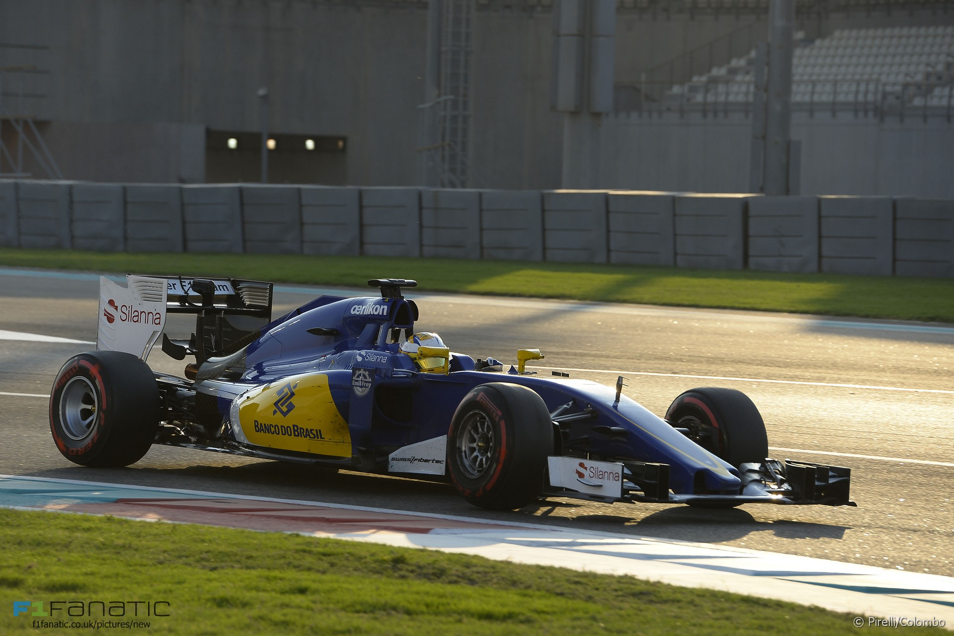 Marcus Ericsson, Sauber, Yas Marina, 2015