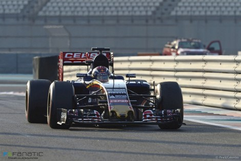 Max Verstappen, Toro Rosso, Yas Marina, 2015